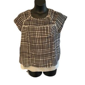 SUNG Alfred Sung checked blouse